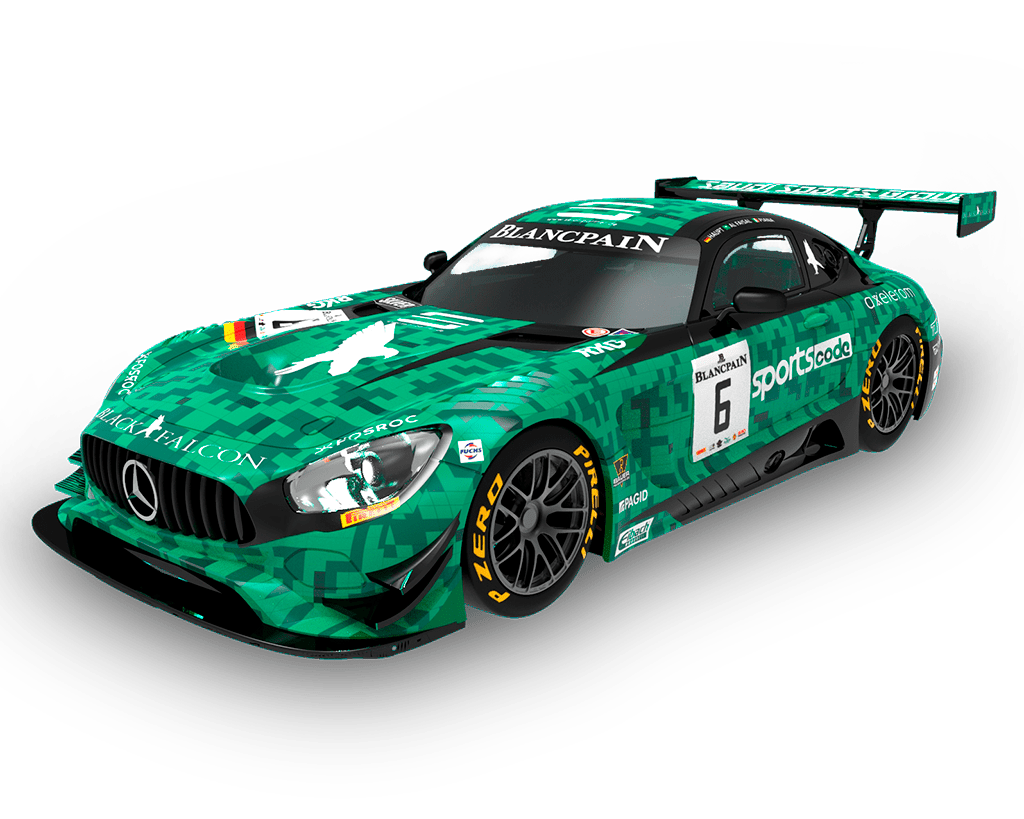 C10305- C10309S300- Mercedes AMG GT3 6Green